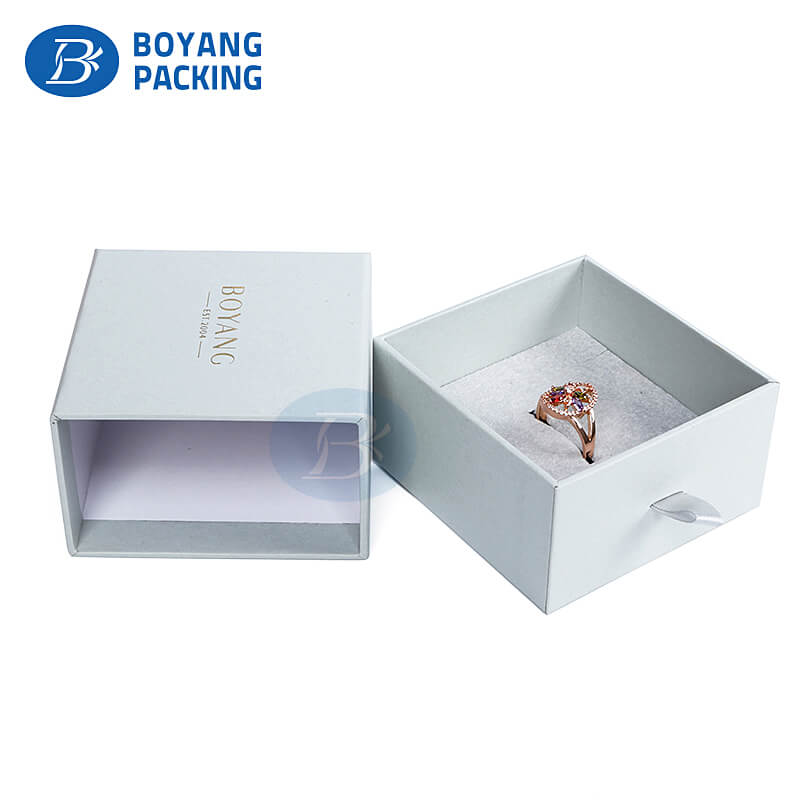 High quality jewelry box packaging design