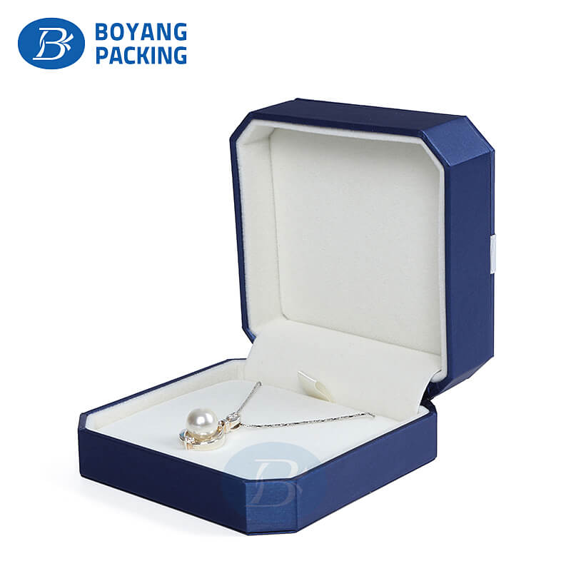 Custom jewelry boxes, necklace box wholesale & manufacturers