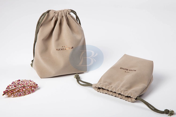 high end drawstring pouch