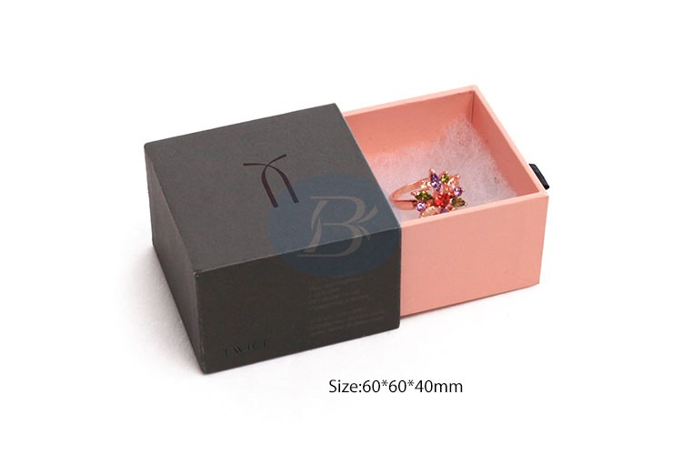 kraft paper jewelry package box