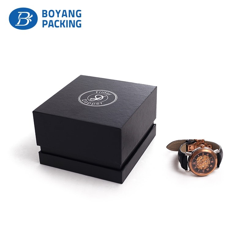 Professional and experienced custom watch box manufacturer