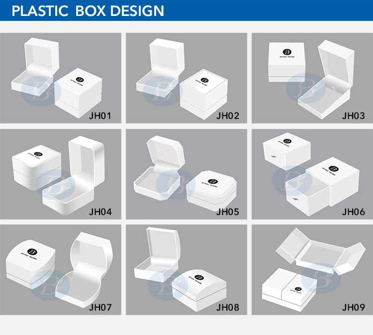 plastic jewelry boxes design