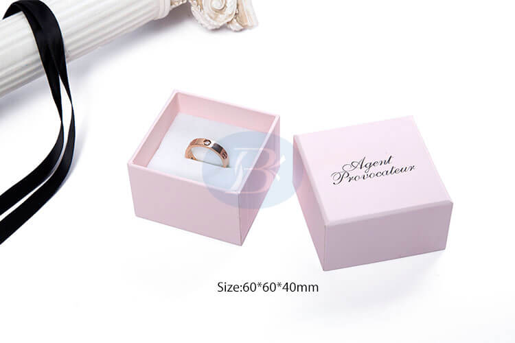 luxury paper ring packaging boxes china