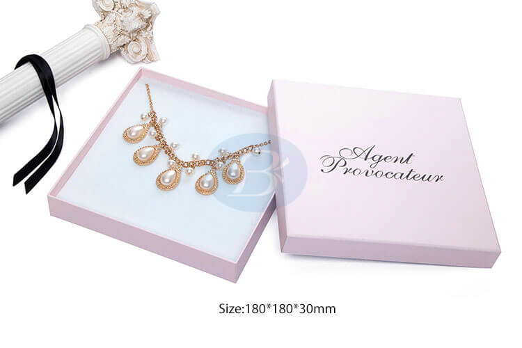 luxury paper necklace packaging boxes china