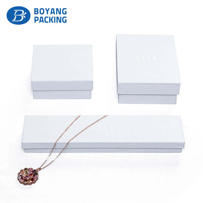 Customized factory production paper box, jewelry packaging factory