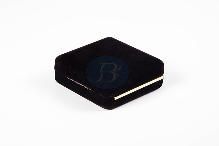 nice black iron earring jewelry box factory