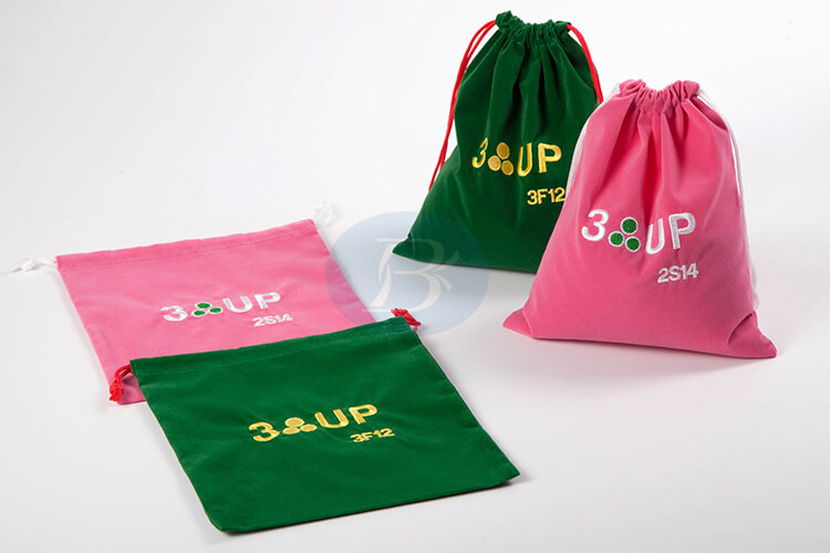 custom colourful drawstring jewelry bags supplier