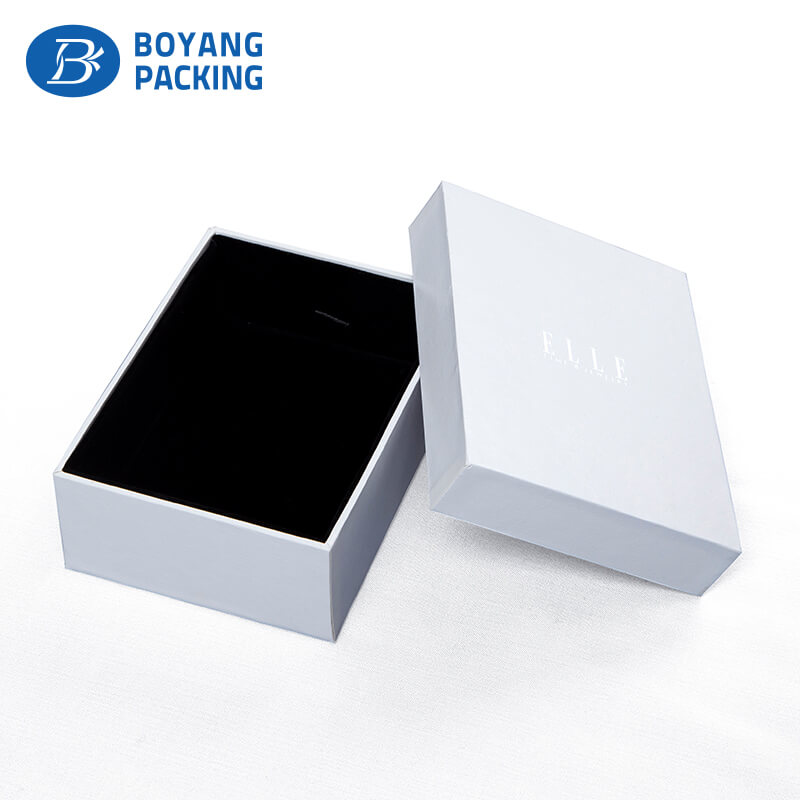 custom big white jewelry box