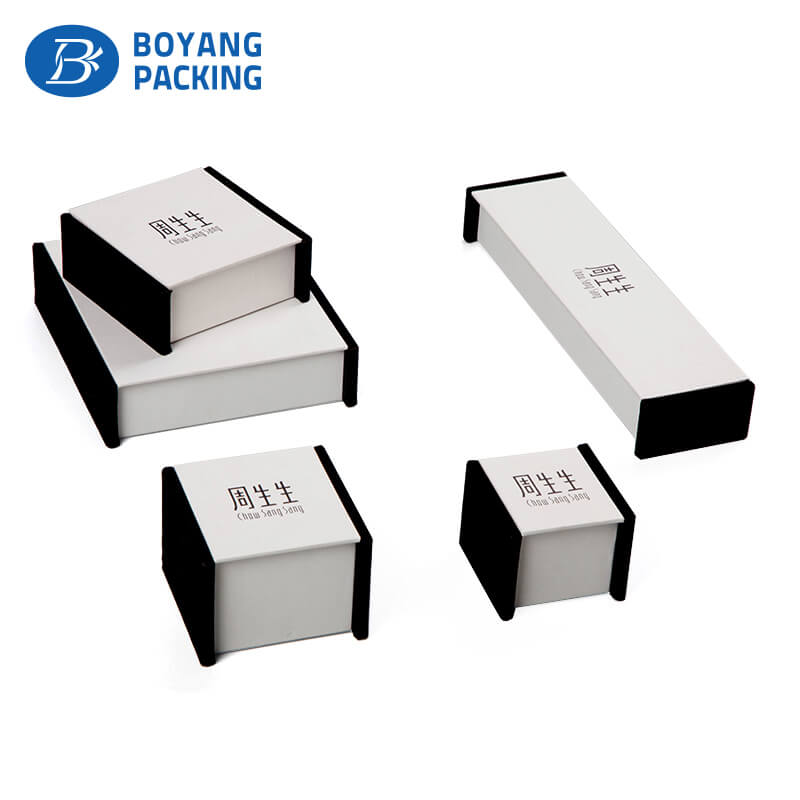 custom paper box with your own logo,jewelry box factory