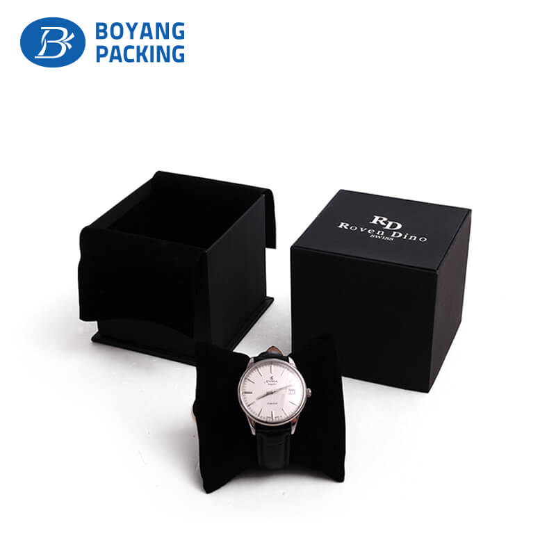 custom watch packaging box,watch box factory