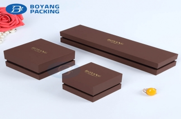 How to solve the custom jewelry gift box over-packaging?