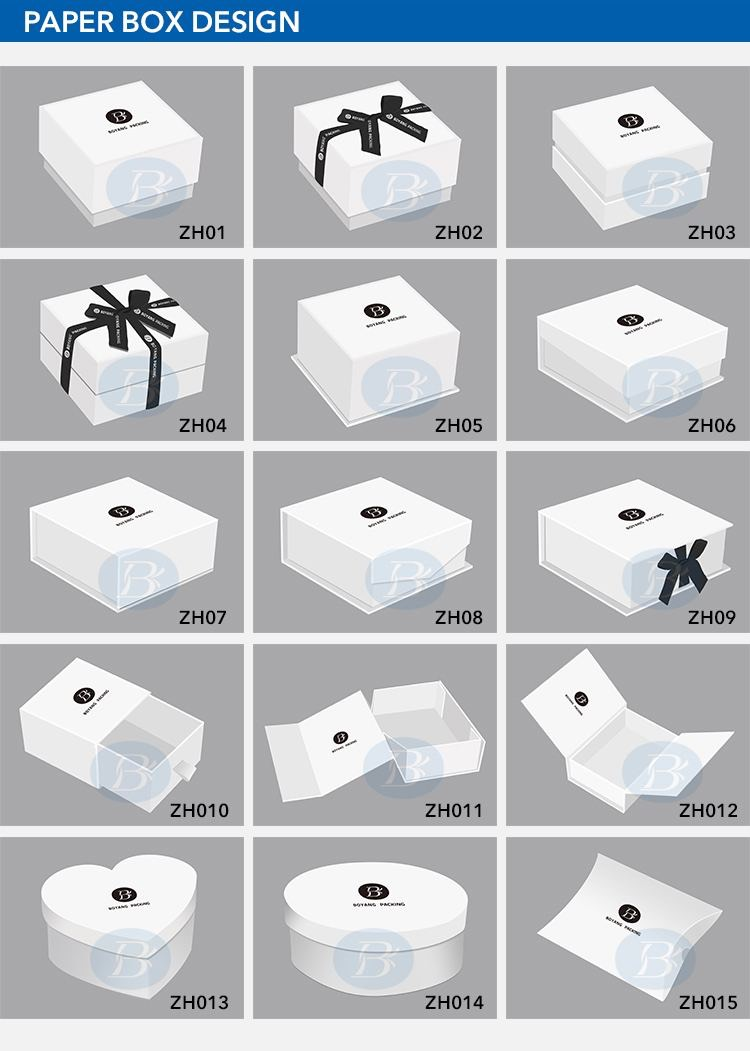 white necklace box wholesale design
