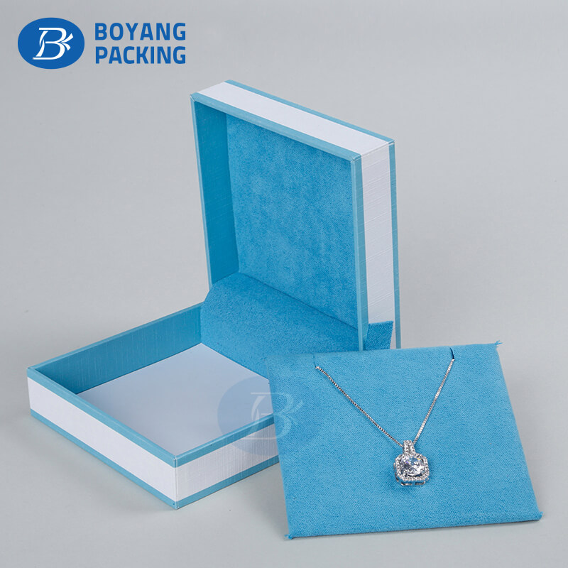 Necklace paper jewelry  box wholesale,customized jewelry packaging boxes