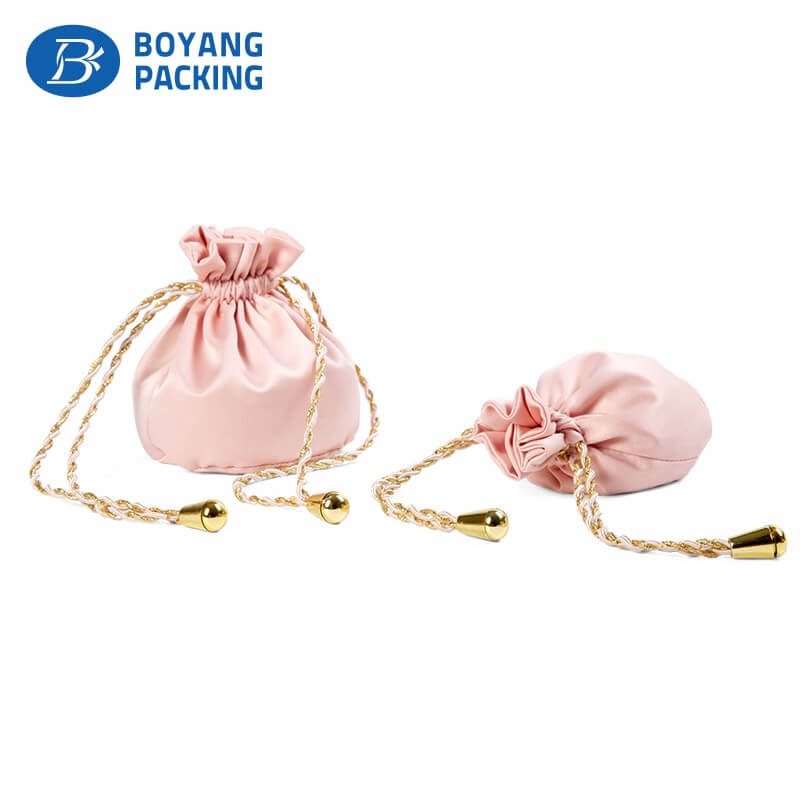 mini satin jewelry bags wholesale