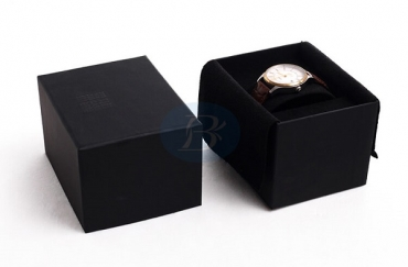What are the structural design of the custom watch box?