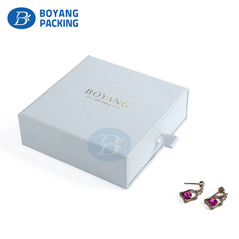 Custom jewelry packaging boxes for your logo