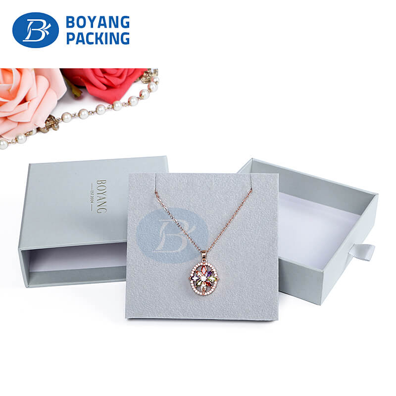 Custom jewelry packaging boxes factory