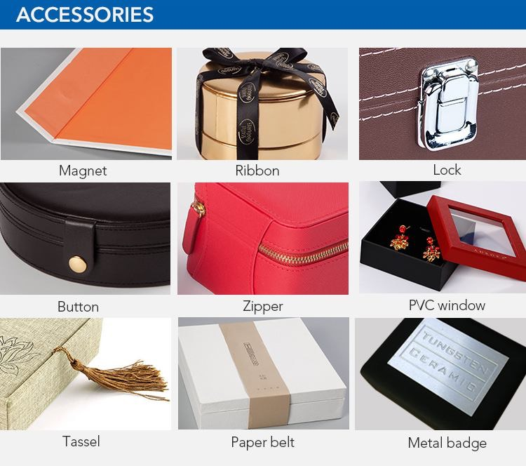Accessories can be chosen about design jewelry boxes