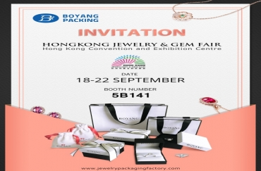 INVITATION TO HONGKONG JEWELRY & GEM FAIR IN SEPTEMBER 2019